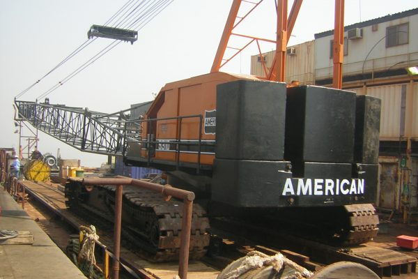 204 MT American Hoist 9310 - Clough - British Gas Mumbai High 2